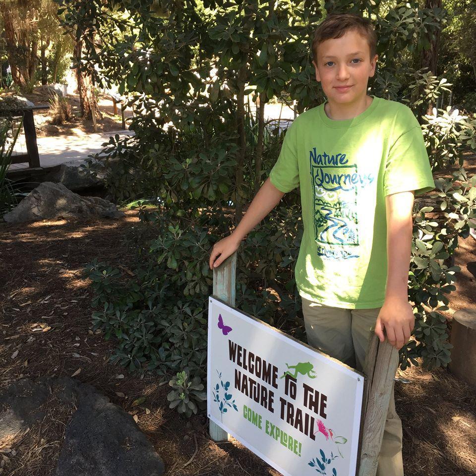 Asher Meets $2,000 Legume Tree Goal