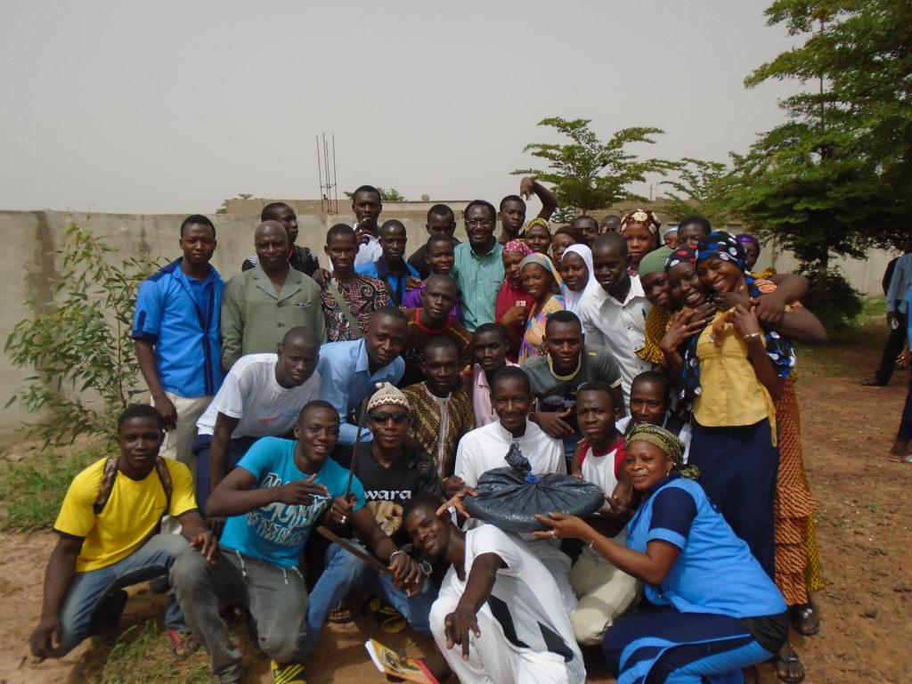 Student Cassava Trial