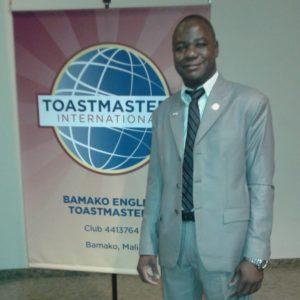 President of Toast Masters English Club