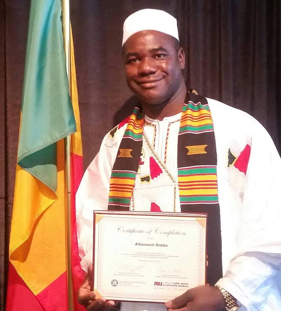 Alfousseni Sidibe YALI Award