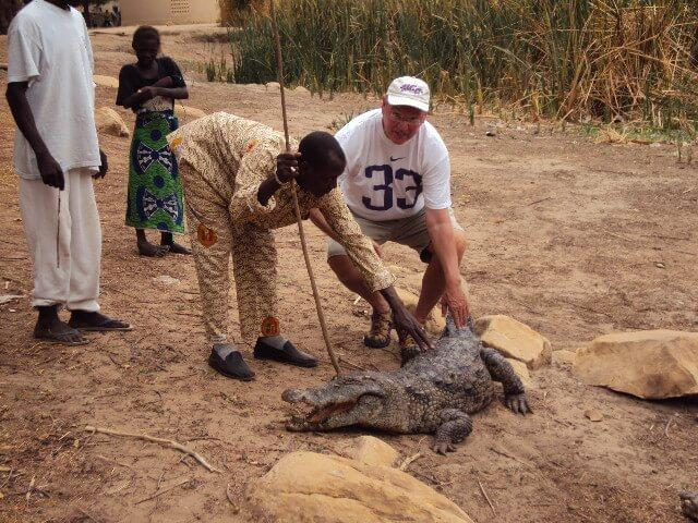Crocodiles in Dogon County