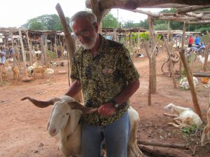 Farmer to Farmer Volunteer Dan Miller in Bougouni, Mali