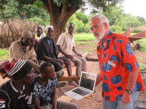 Farmer to Farmer Volunteer Dan Miller in Klé Sokoro, Mali