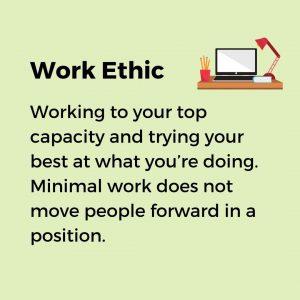 work ethic as a key soft skill