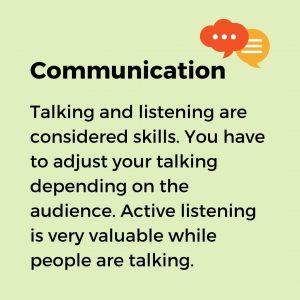 communication as a key soft skill for entrepreneurship
